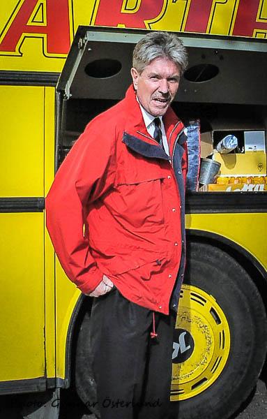 Krister, den duktige busschauffören.