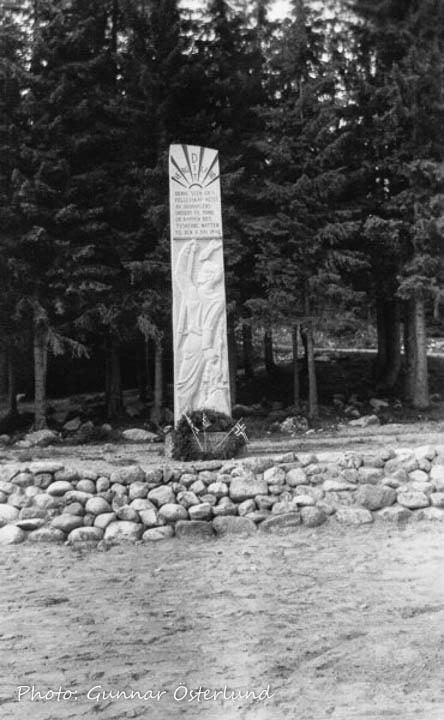 Minnessten från andra världskriget i Norge