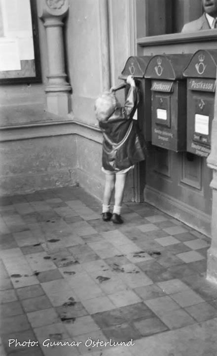 Jag postar ett vykort i Hamar