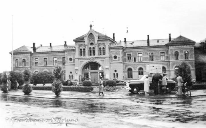Järnvägsstation i Hamar