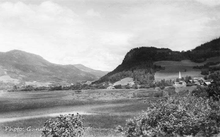 Utsikten från Fåvang
