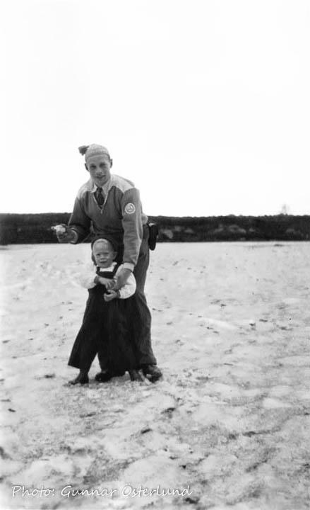 Jag och min pappa på Dovrefjäll.