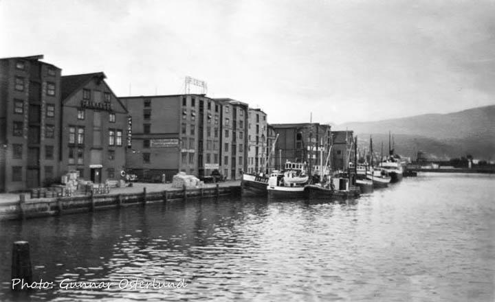 Hamnen i Nidälven, Trondheim