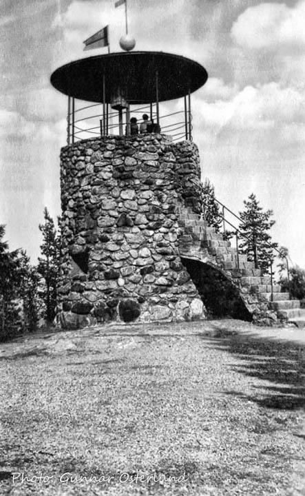 Utsiktstornet på Södra Stadsberget i Sundsvall