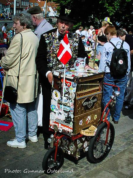 Det var folkfest i den gamla staden Ribe.