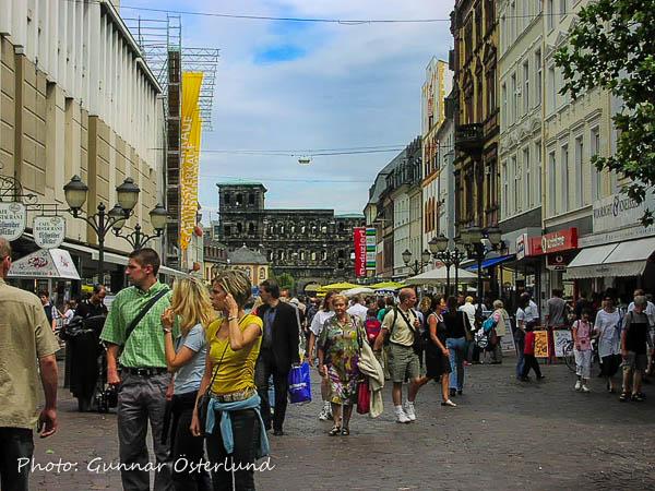 Trier är Tysklands äldsta stad.