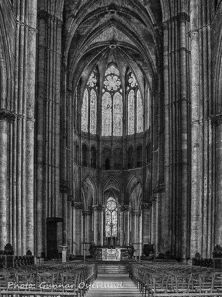 Ett av koren i Reimskatedralen.