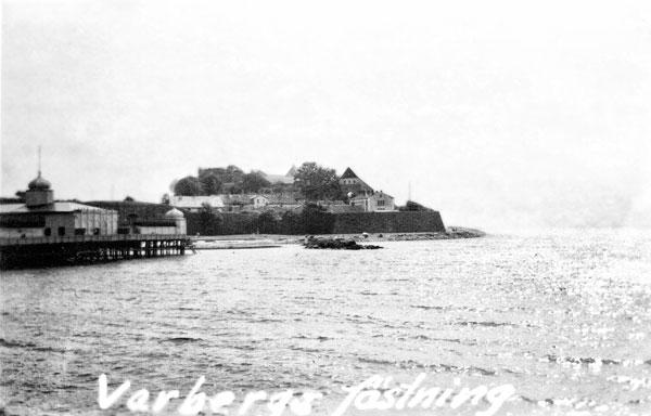 I Varberg såg vi den gamla fästningen