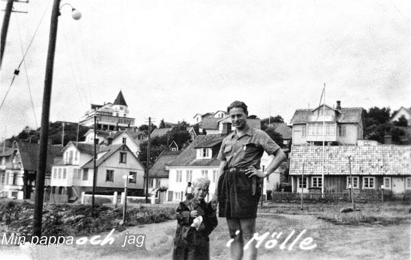 Jag och min pappa i Mölle