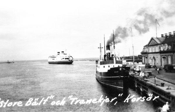 Färjehamnen i Korsör
