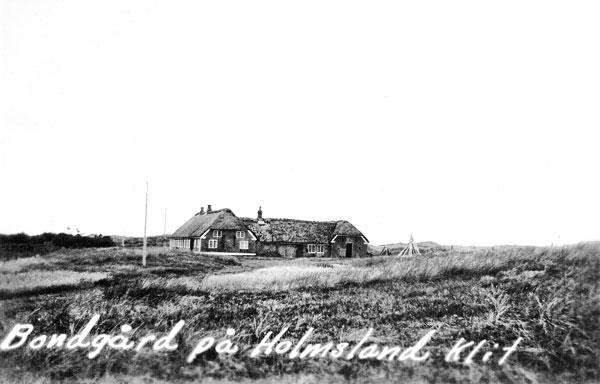 Bondgård på Holmsland Klit