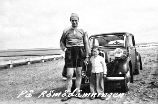 Jag och min pappa på Römödammen
