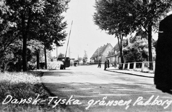 Dansk-Tyska gränsen,  Padborg