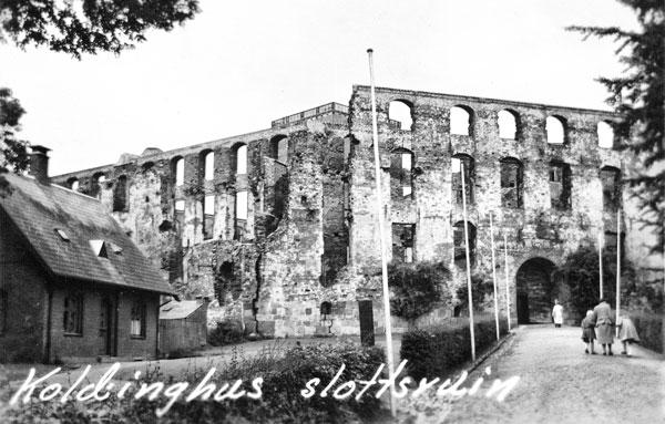 Koldinghus slottsruin