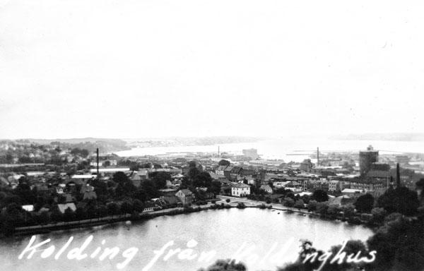 Kolding sett från Koldinghus.