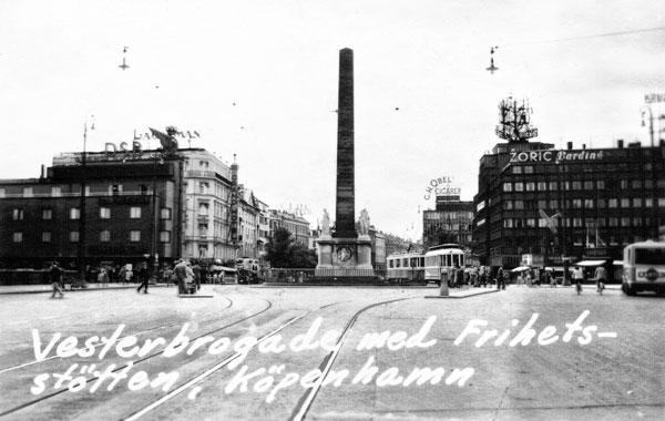 Vesterbrogade i Köpenhamn
