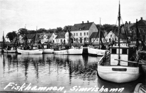 Hamnen i Simrishamn