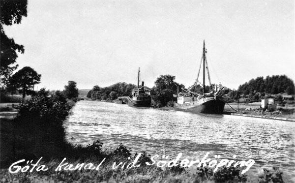 Göta kanal vid Söderköping