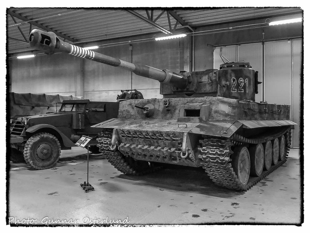 Tiger I-replika byggd på T-55-chassie.
