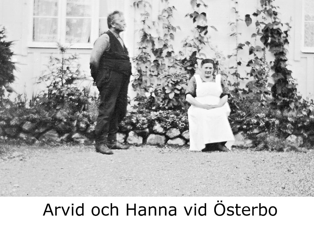 Arvid och Hanna vid Österbo