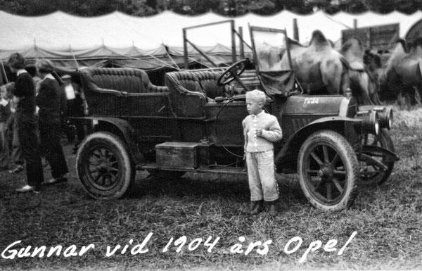 Jag och en gammal Opel