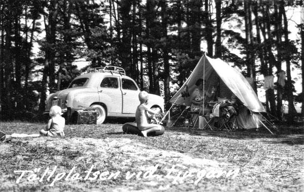 Campingplatsen i Ljugarn