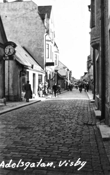 Adelsgatan i Visby