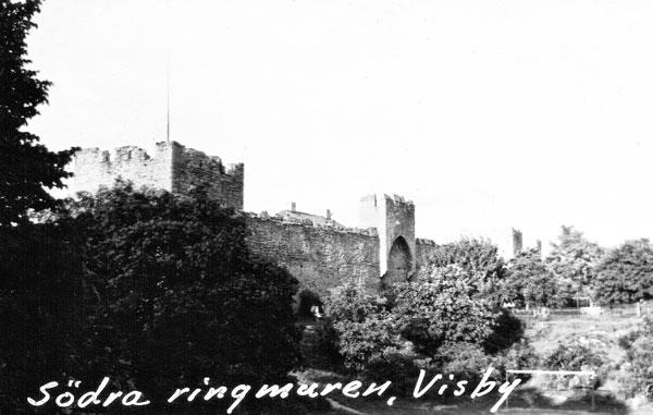 Ringmuren i Visby