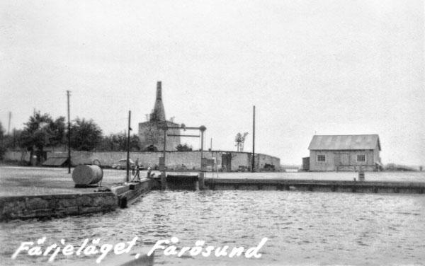 Färjeläget vid Fårösund