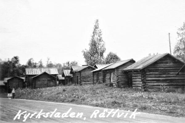 Kyrkstaden i Rättvik