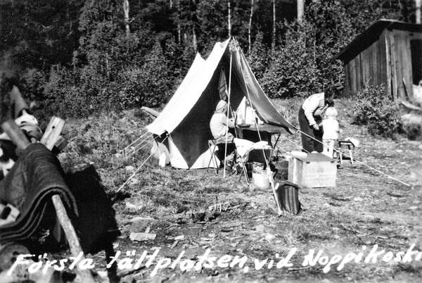 Campingplatsen, Noppikoski