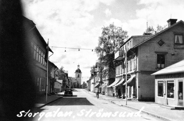 Storgatan i Strömsund