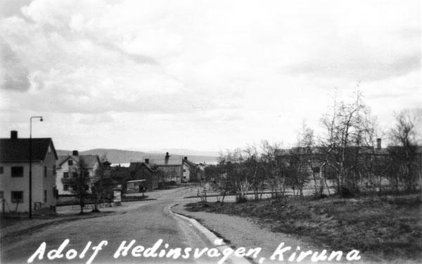 Adolf Hedinsvägen, Kiruna