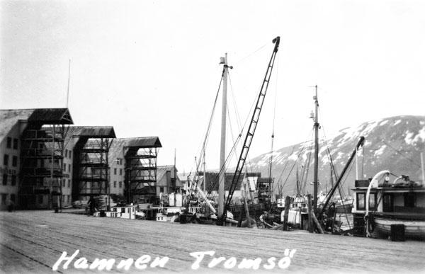 Hamnen i Tromsö