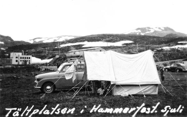 Campingplatsen i Hammerfest