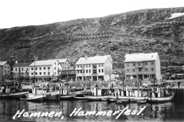 Hamnen i Hammerfest