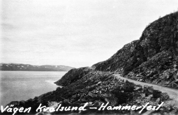 Vägen till Kvalsund