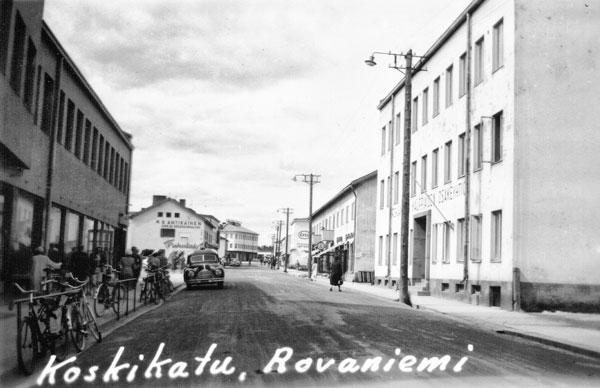 Koskikatu i Rovaniemi