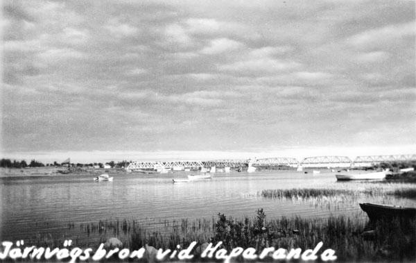Järnvägsbron vid Haparanda