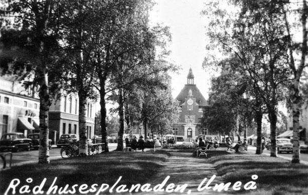 Rådhusesplanaden, Umeå
