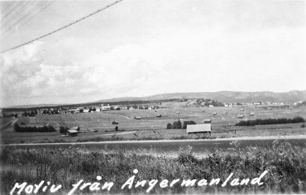 Ångermanland strax söder om Örnsköldsvik