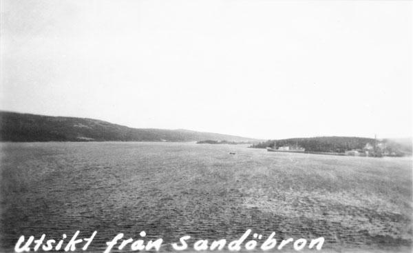 Utsikt från Sandöbron
