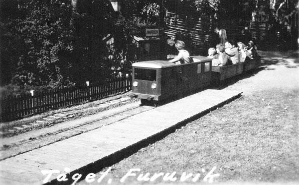 Tåget i Furuvik