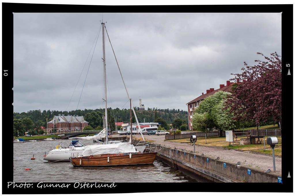 Här metade och lekte jag som barn, när jag bodde i Söderhamn.