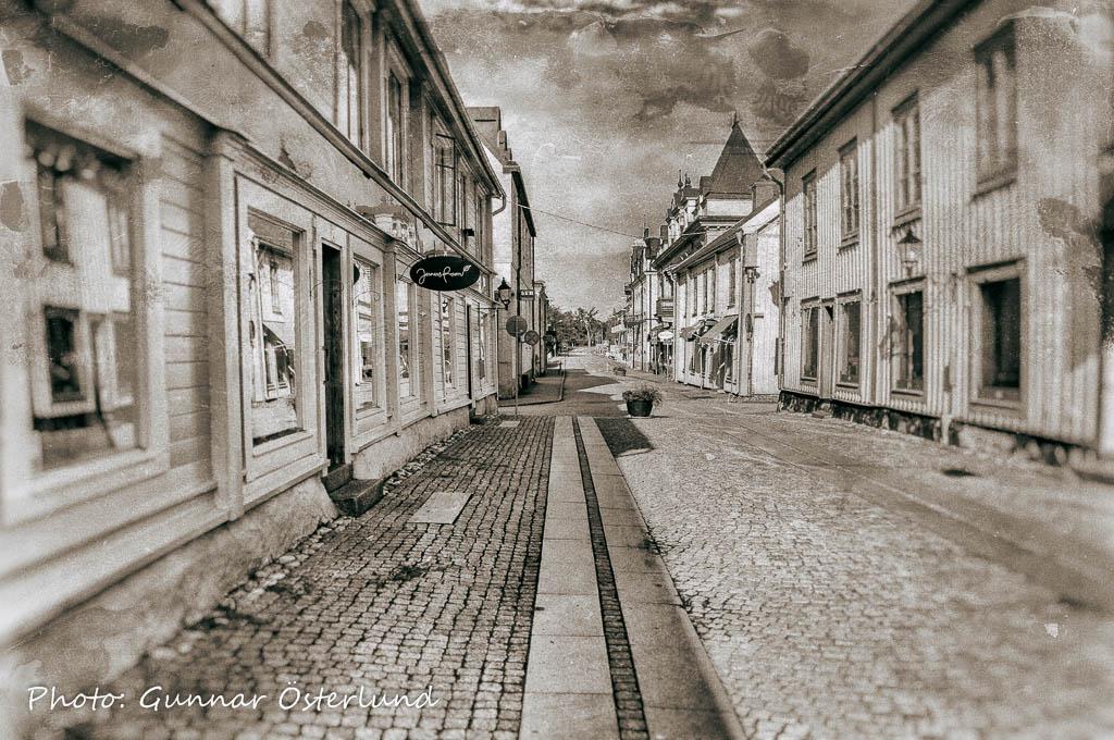 Folktom gata i Mariefred