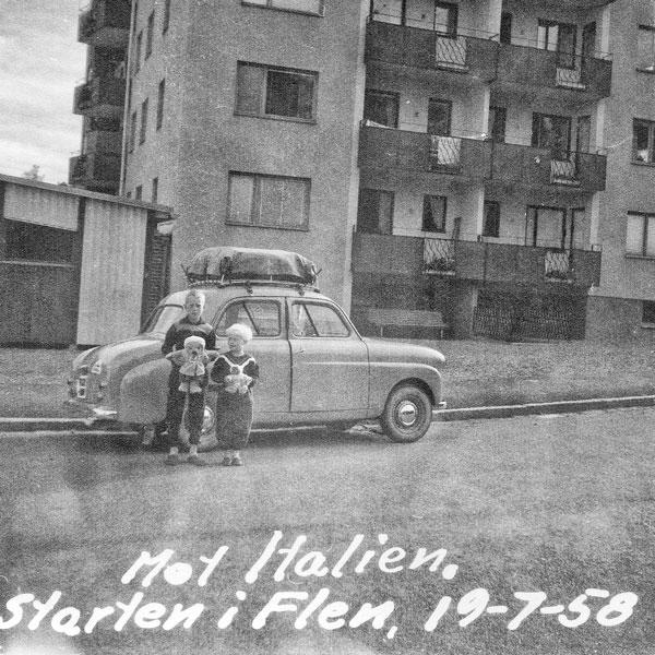 Starten i Flen 19/7 1958