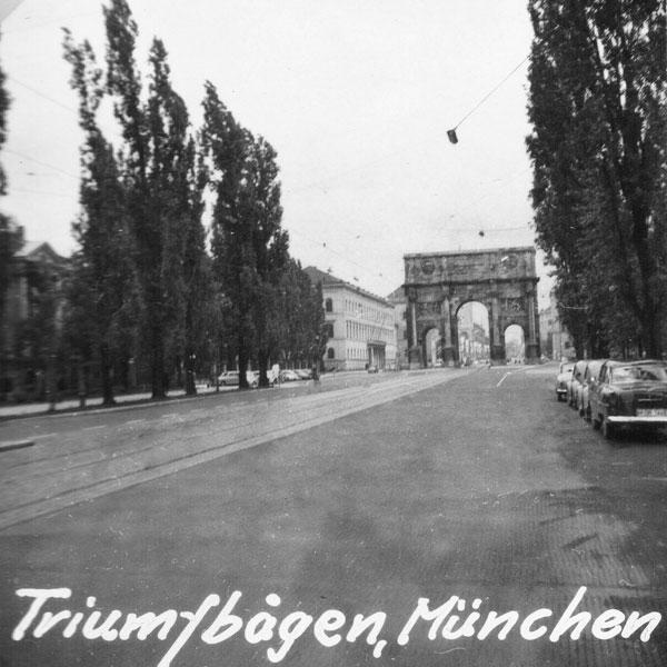 Triumbåge i München.