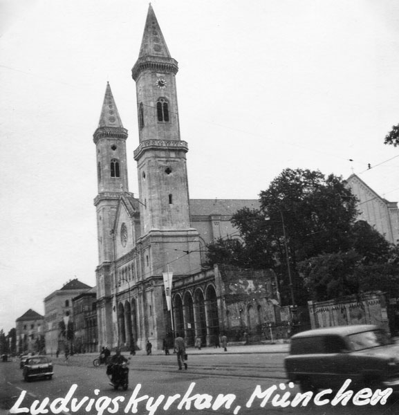 Ludwigskyrkan i München.