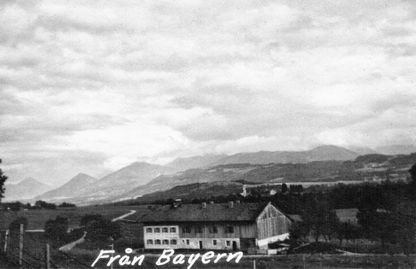 Landskap i Bayern.