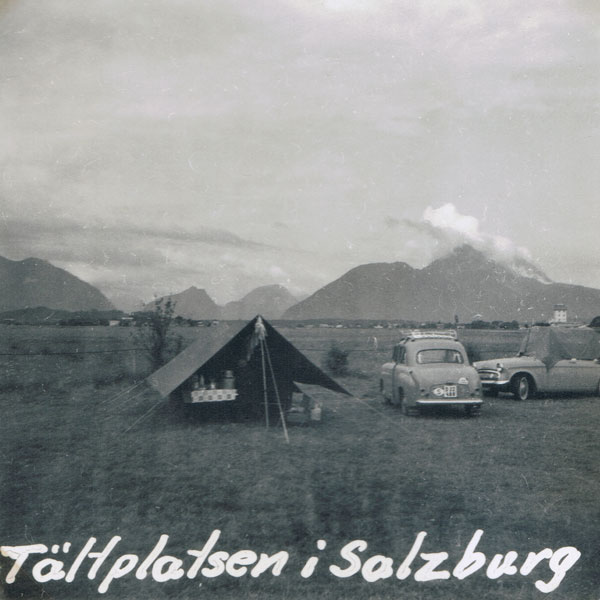 Campingplatsen i Salzburg.